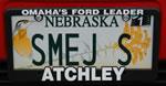 SMEJ license plate